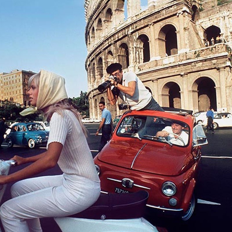 Douglas Kirkland Peter Sellers and Britt Ekland Rome Italy 1965 featured