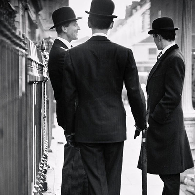 Norman Parkinson The New Mayfair Edwardians 1950 featured