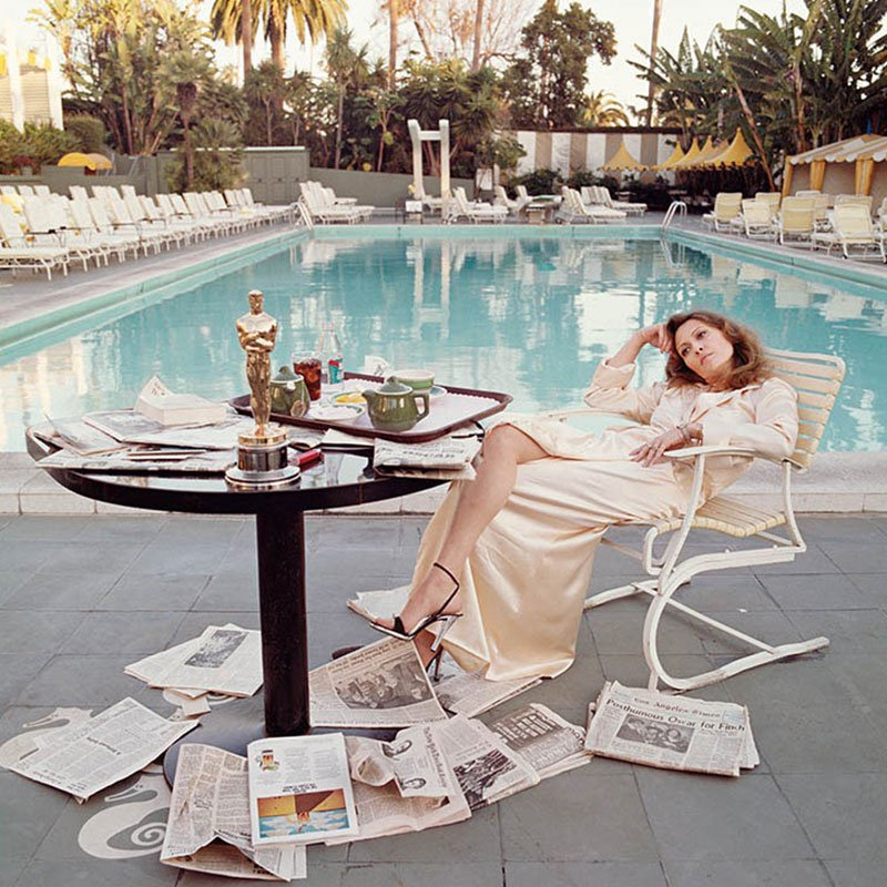 Terry ONeill Faye Dunaway The Morning After The Oscars 1977 featured