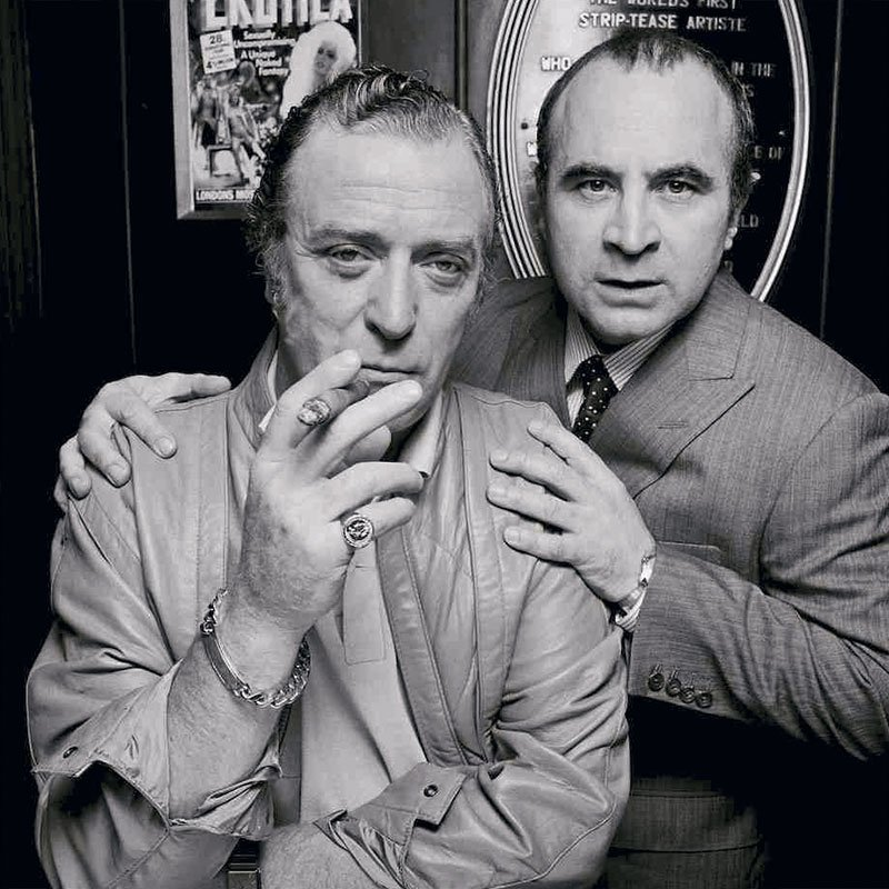 Terry ONeill Michael Caine Bob Hoskins London 1985 featured