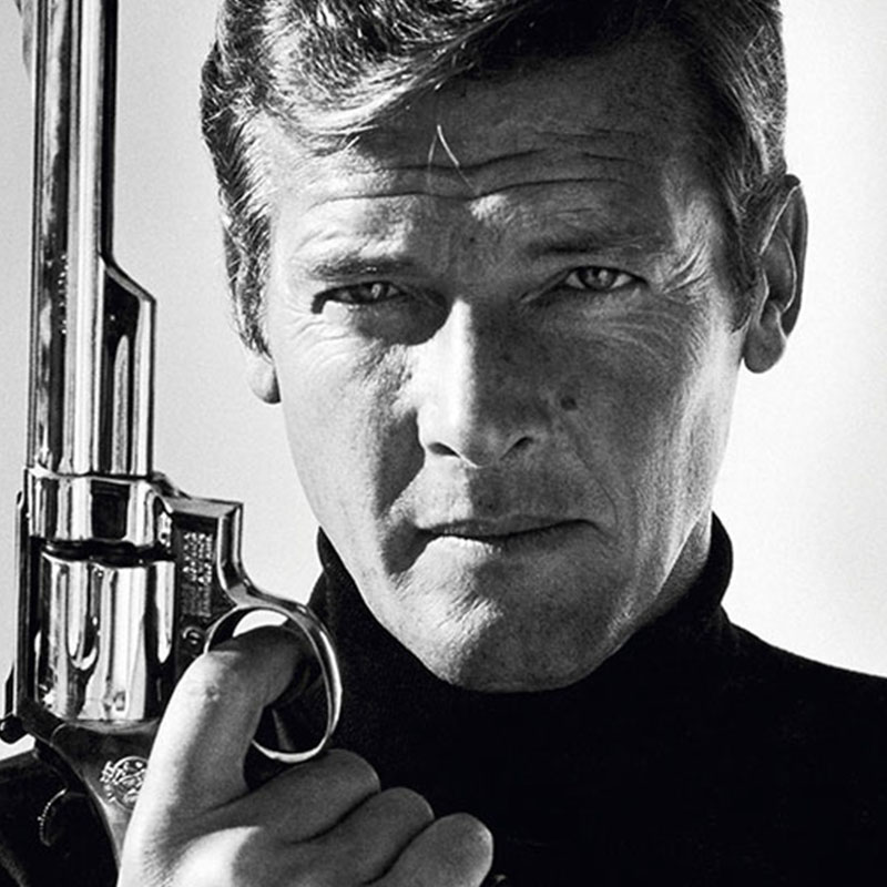 Terry ONeill Roger Moore 1973 featured