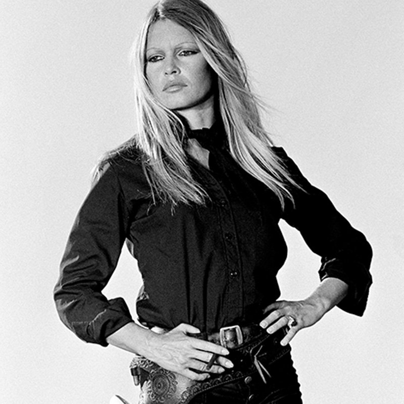 Terry ONeill Brigitte Bardot Hands on Hips Spain 1971 featured