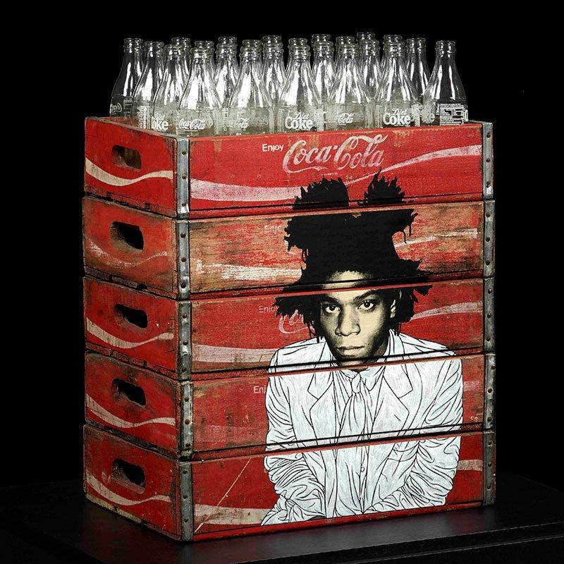 Pakpoom Silaphan Basquiat Coke Bottles featured