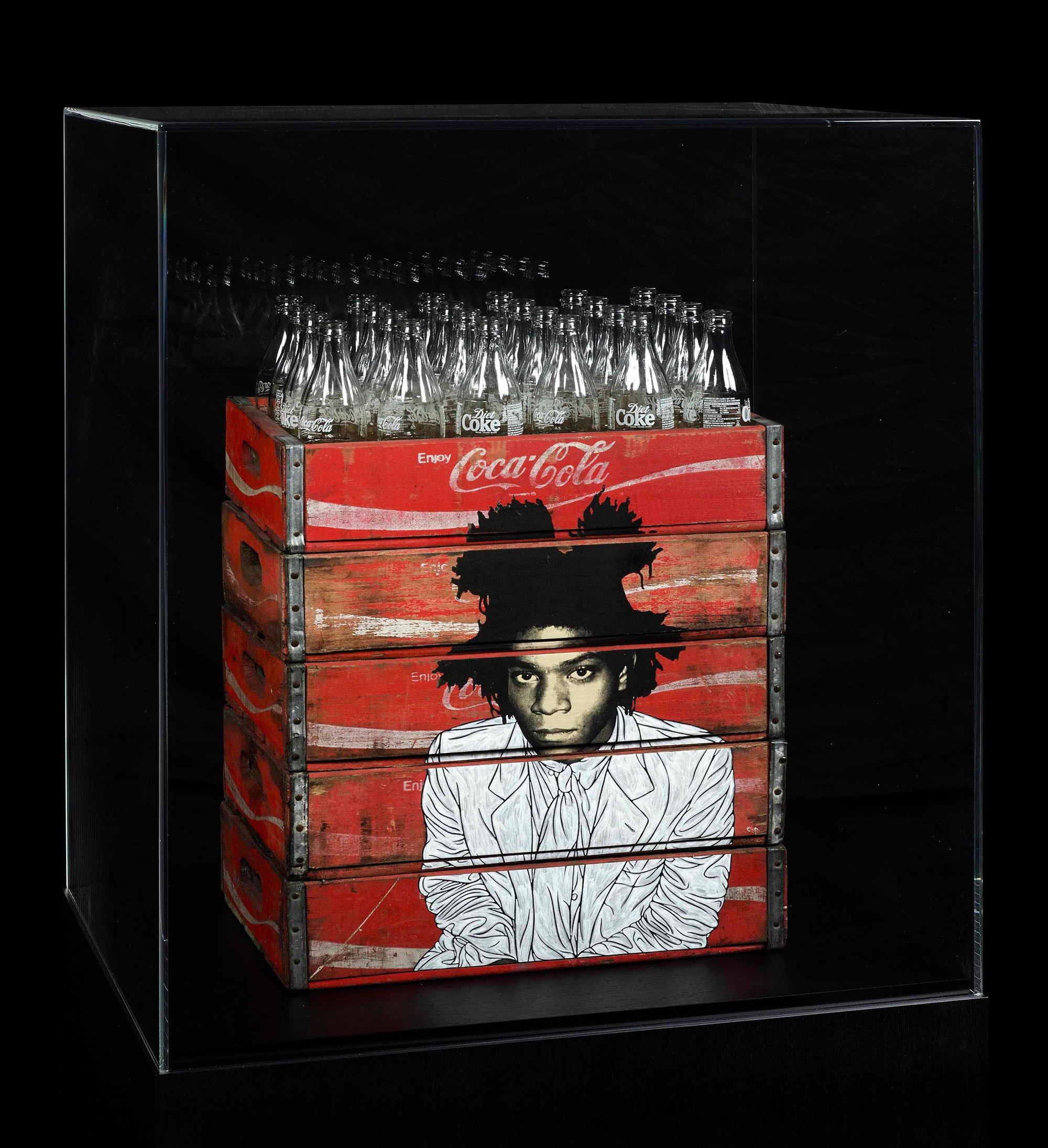 Pakpoom Silaphan Basquiat Coke Bottles
