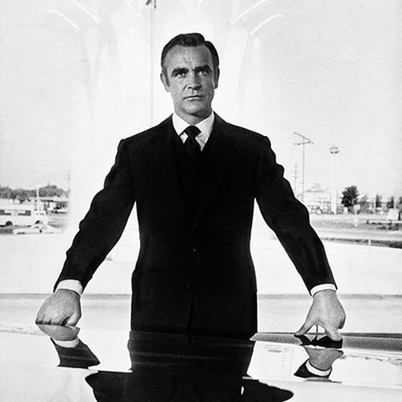 Terry ONeill Sean Connery as James Bond during the filming of 'Diamonds Are Forever' 1971 featured 1