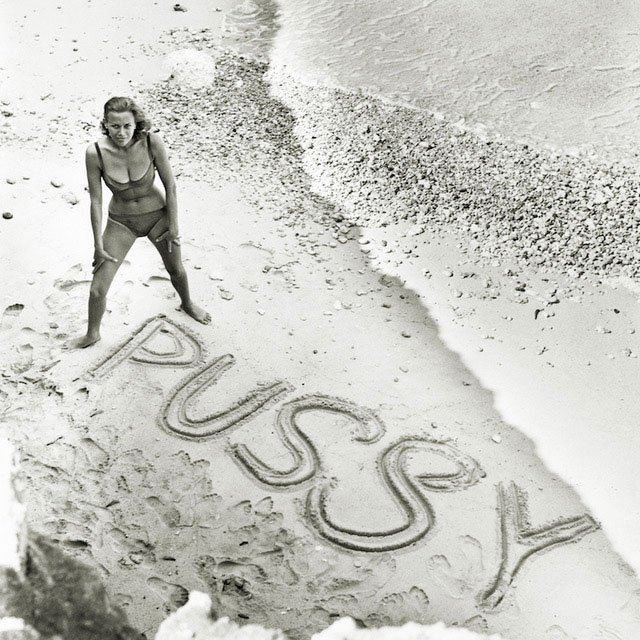 Terry ONeill Honor Blackman as Pussy Galore Malta 1964 featured