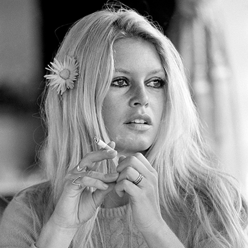 Terry ONeill Brigitte Bardot on the Set of Shalako Deauville 1968 featured