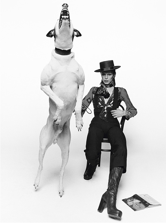Terry ONeill David Bowie Diamond Dogs London 1974