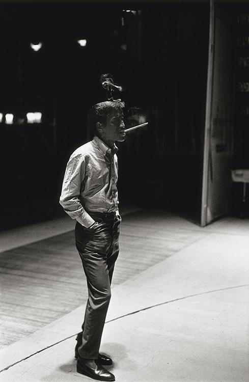 Terry ONeill Sammy Davis Jr. During Rehearsals at the Pigalle Nightclub London 1961