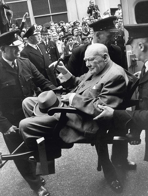 Terry ONeill Winston Churchill London 1962