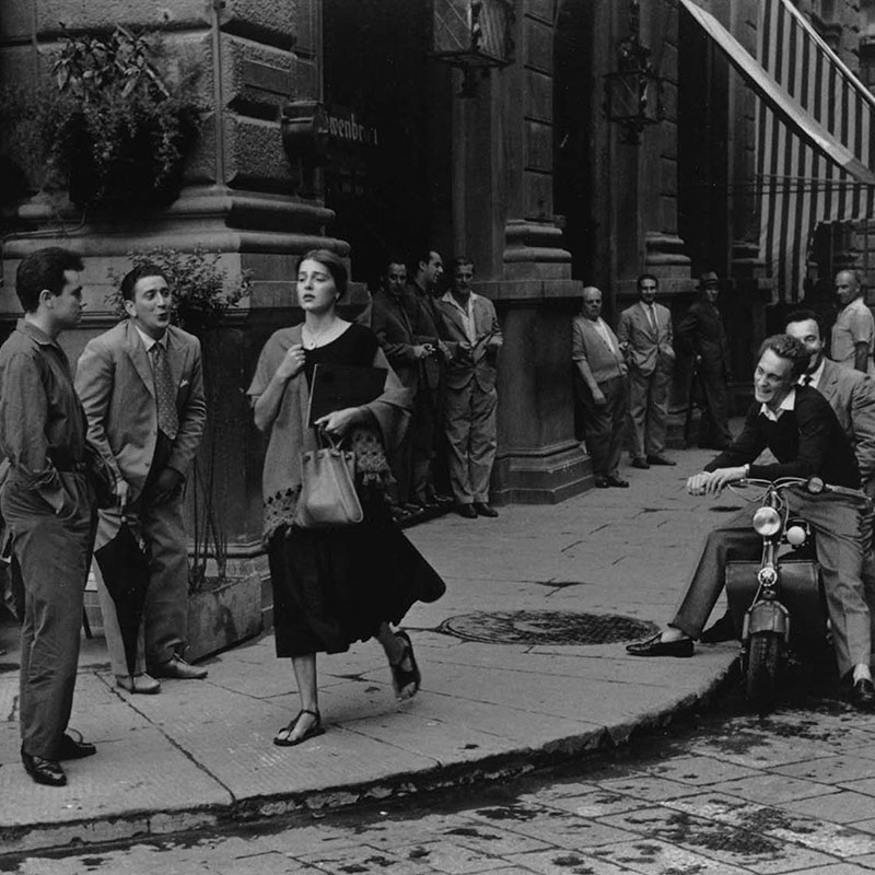 Ruth Orkin American Girl in Florence Italy 1951 featured