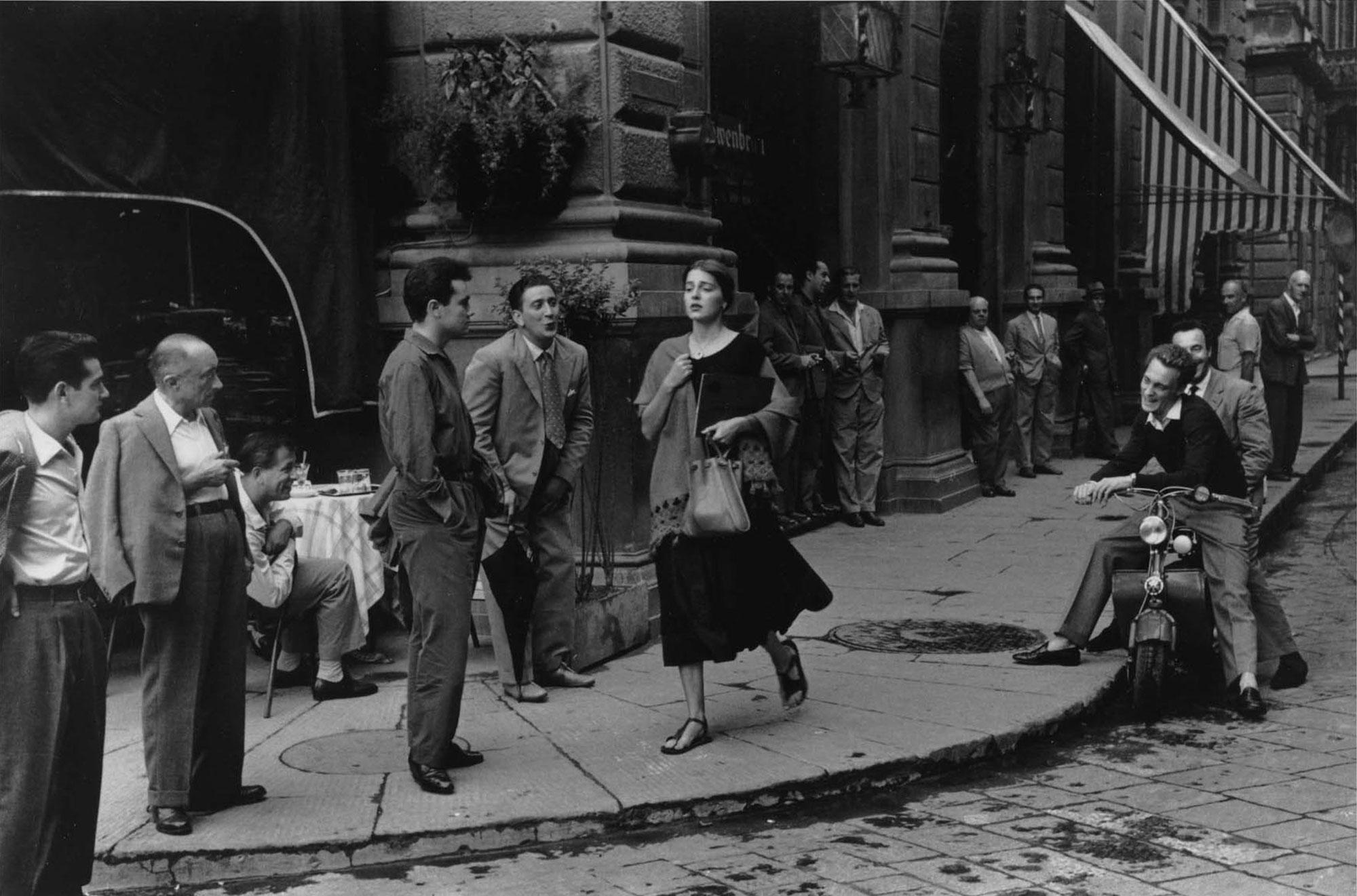 Ruth Orkin American Girl in Florence Italy 1951