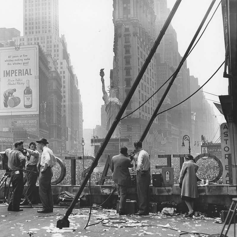 Ruth Orkin VE Day Times Square New York City 1945 featured